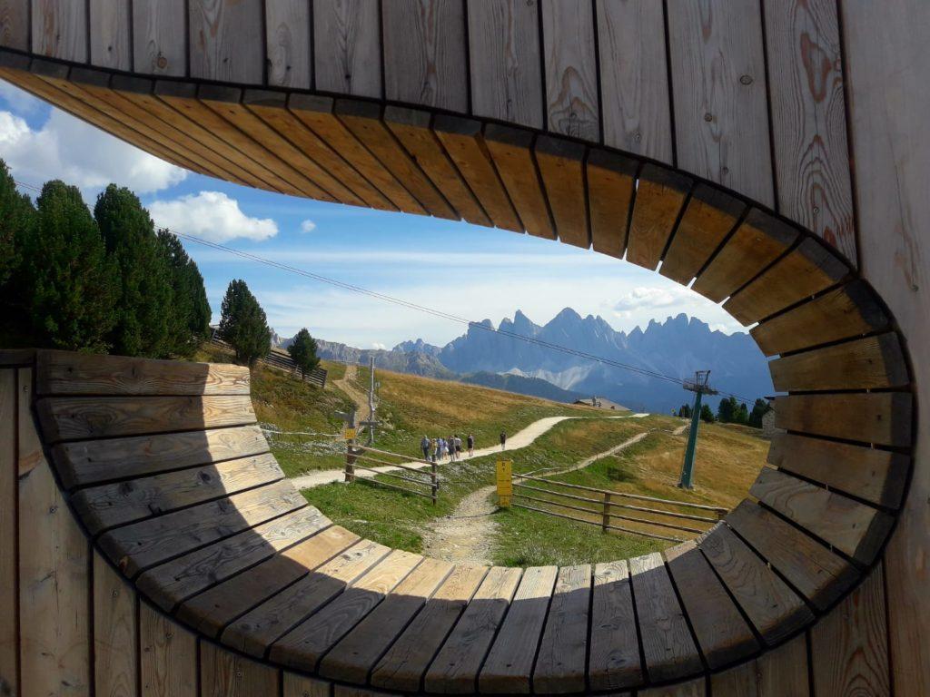 Wandern in Südtirol – Mit dem Buggy auf dem Woody Walk