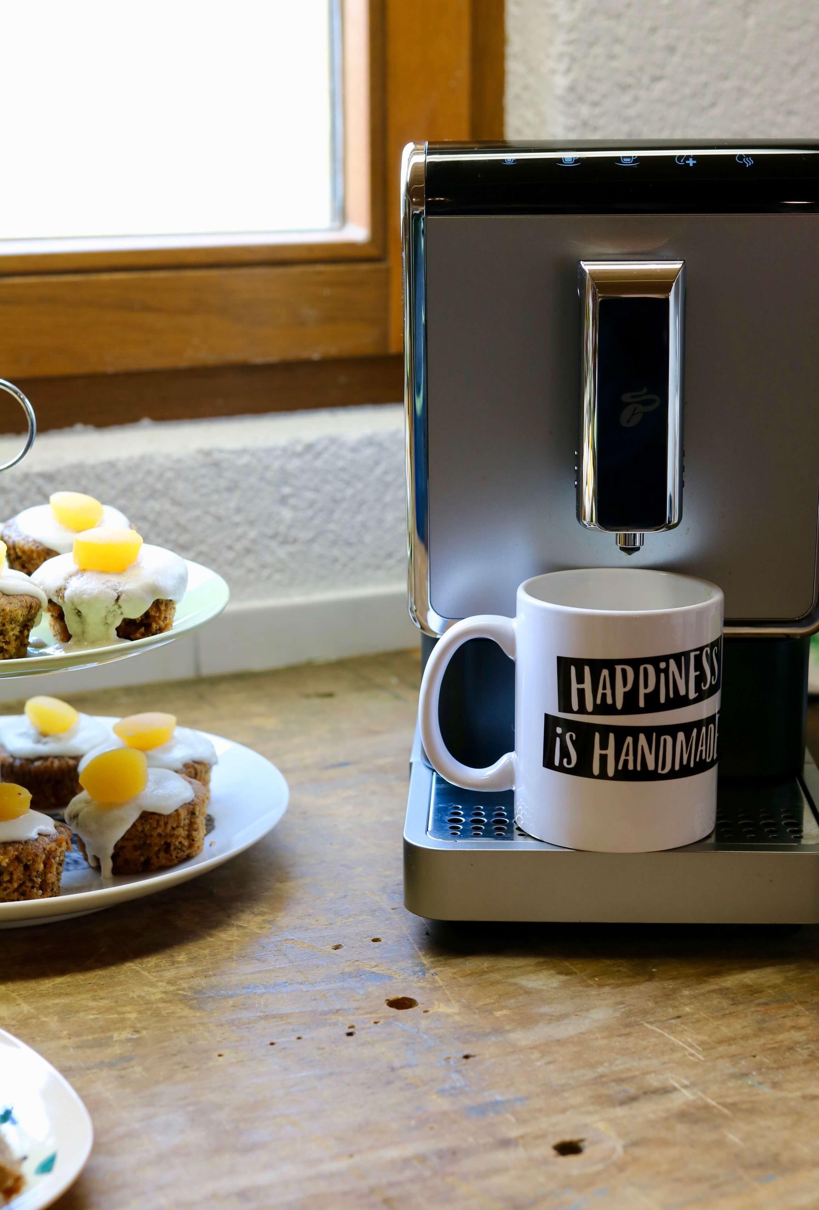 Happinez is handemade, wenn das mal kein Motto ist! Kaffee, Kuchen und Kreatives!