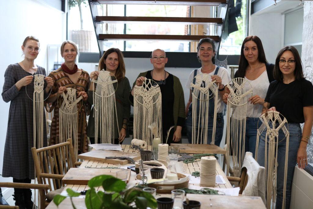 Oh Yeah Atelier im Seasalt Living Concept Store- Der Makramee Traumfänger Workshop