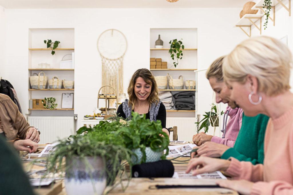 Der Blumenampel Workshop – können wir das bitte nochmal machen?